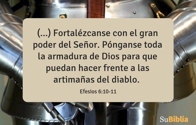 Efesios 6:10-11